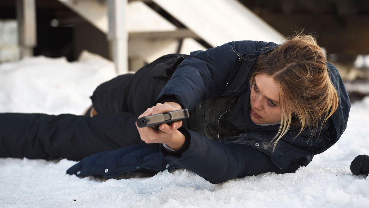 "Elizabeth Olsen in ""Wind River."""