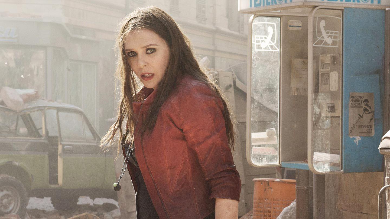 """Elizabeth Olson in """"Avengers: Age of Ultron."""""""