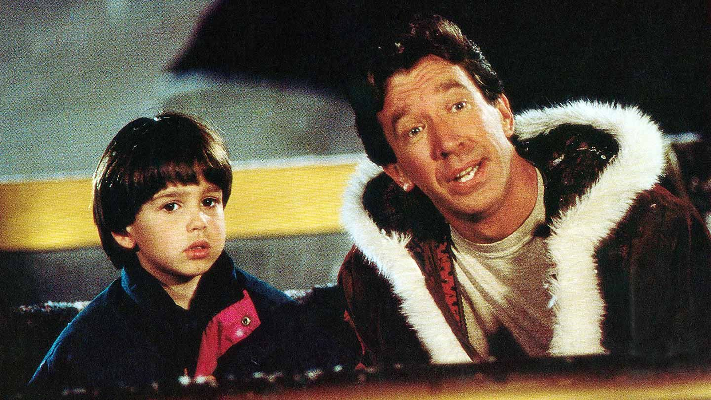 """Eric Lloyd and Tim Allen in """"The Santa Clause."""""""