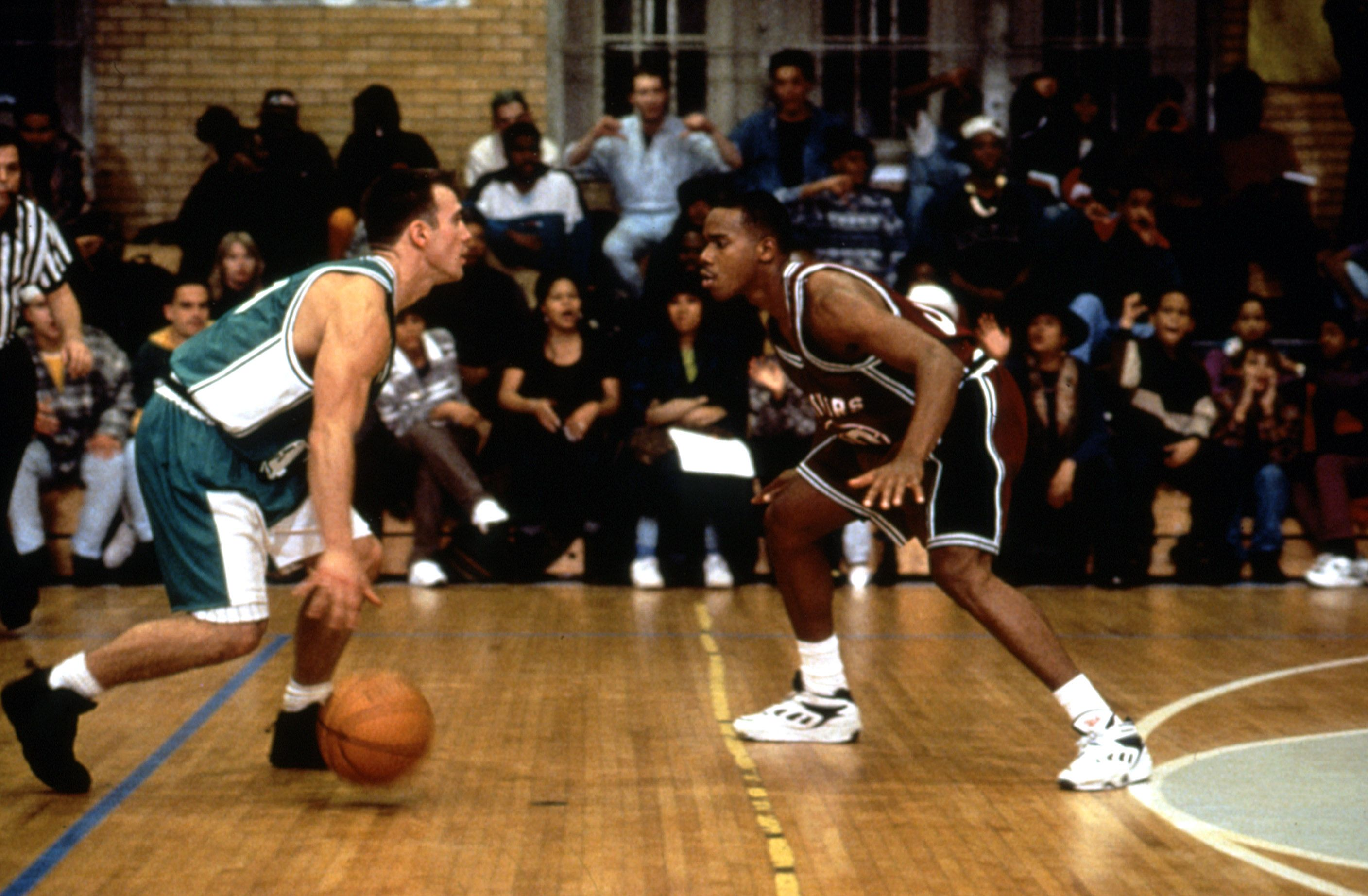 """Eric Nies and Duane Martin in """"Above the Rim."""""""