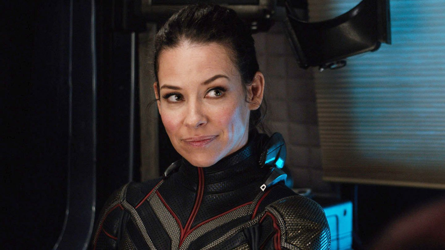 """Evangeline Lilly in """"Ant-Man and the Wasp."""""""