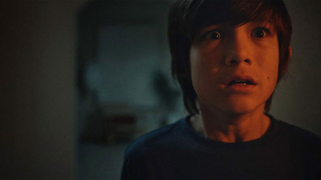 "Ezra Dewey in ""The Djinn."""