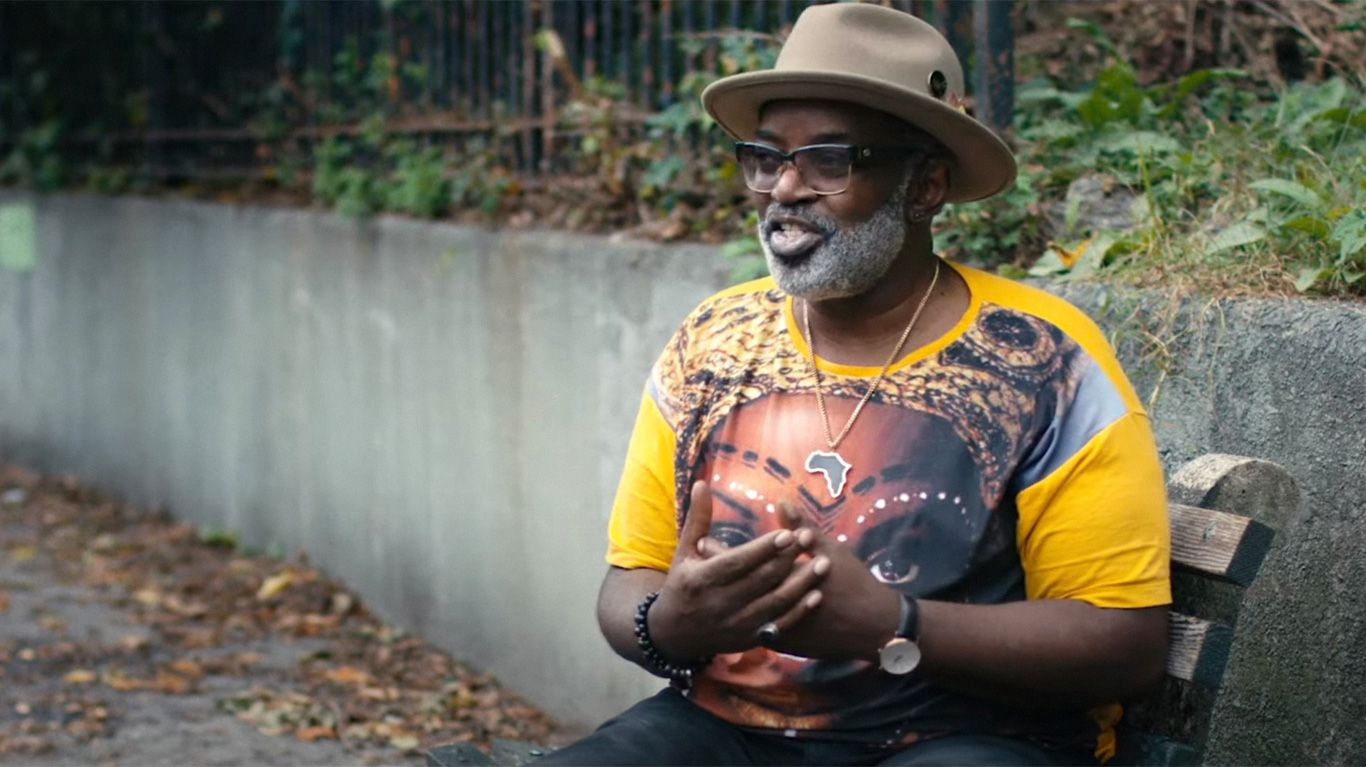 """Fab 5 Freddy in """"All the Streets are Silent."""""""