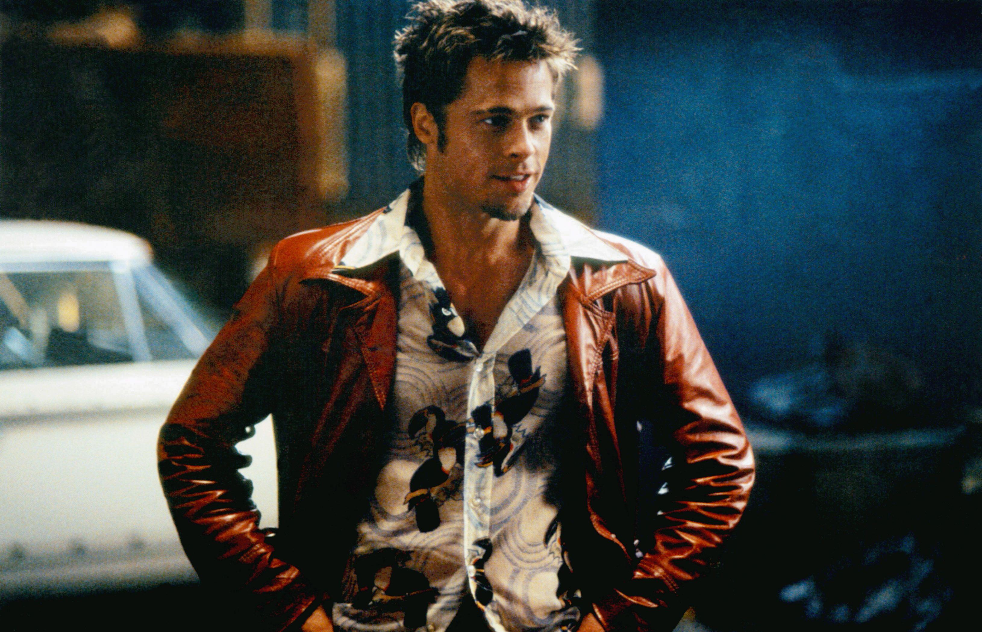 """Brad Pitt in """"Fight Club."""""""
