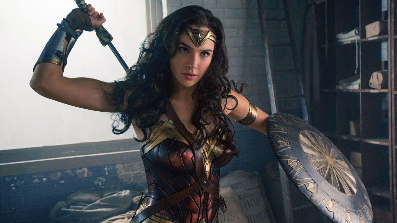 "Gal Gadot in ""Wonder Woman."""