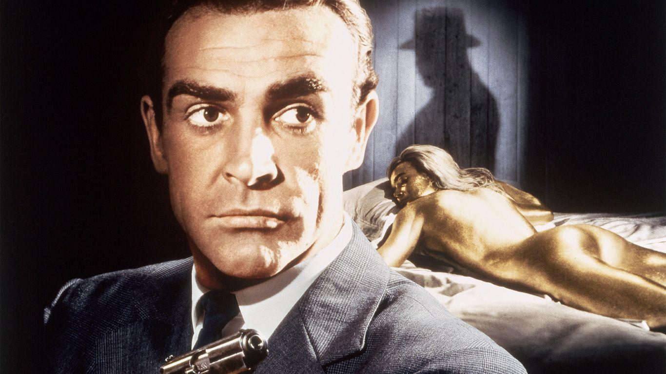 """Key art for """"Goldfinger."""""""