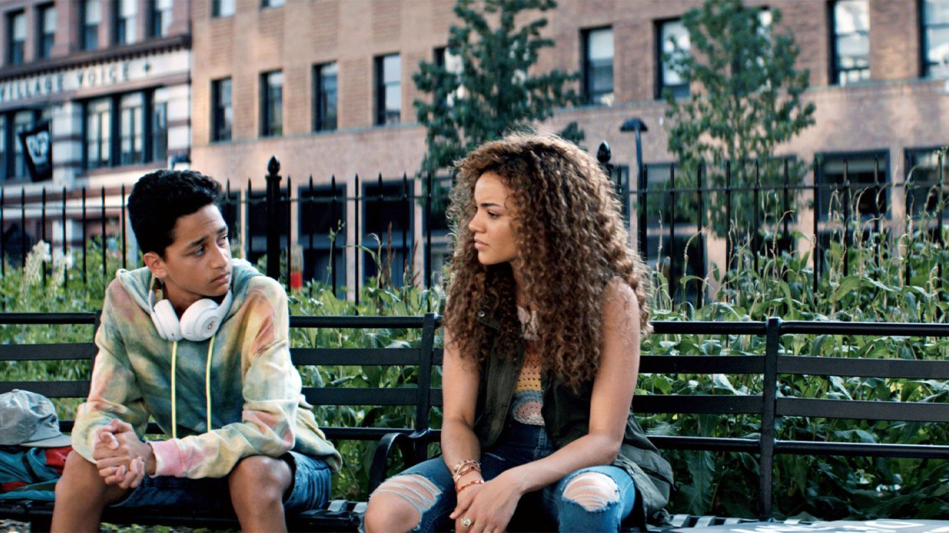 """Gregory Diaz IV and Leslie Grace in """"In the Heights."""""""