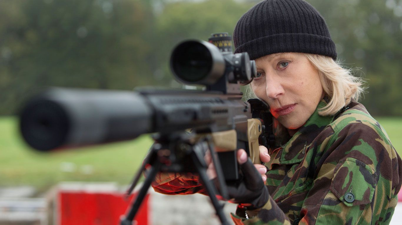 "Helen Mirren in ""Red 2."""