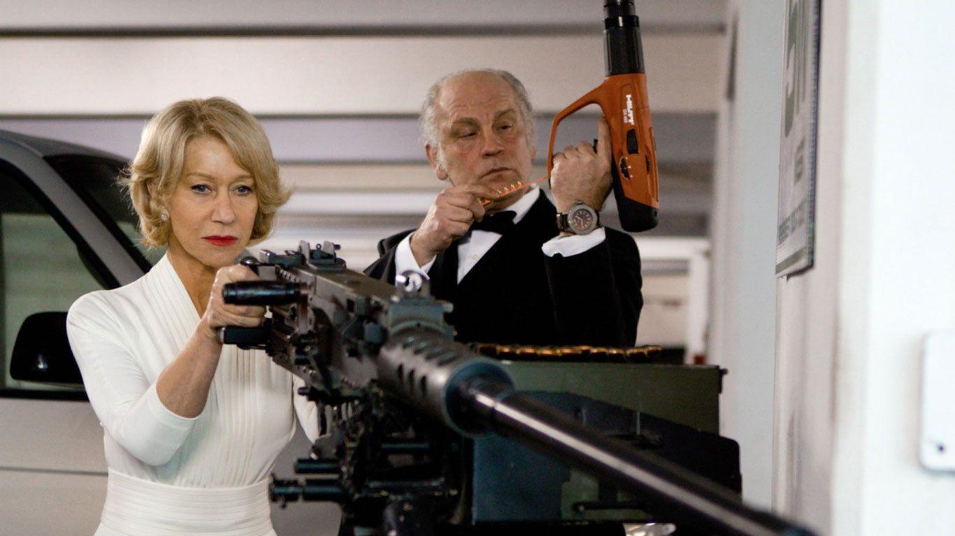 """Helen Mirren, John Malkovich in """"Red."""""""