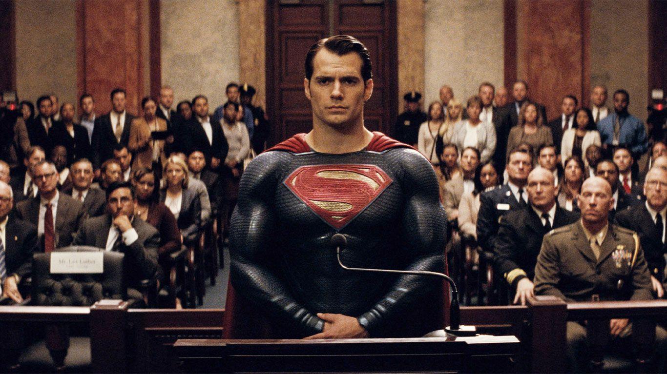"""Henry Cavill in """"Batman v Superman: Dawn of Justice."""""""