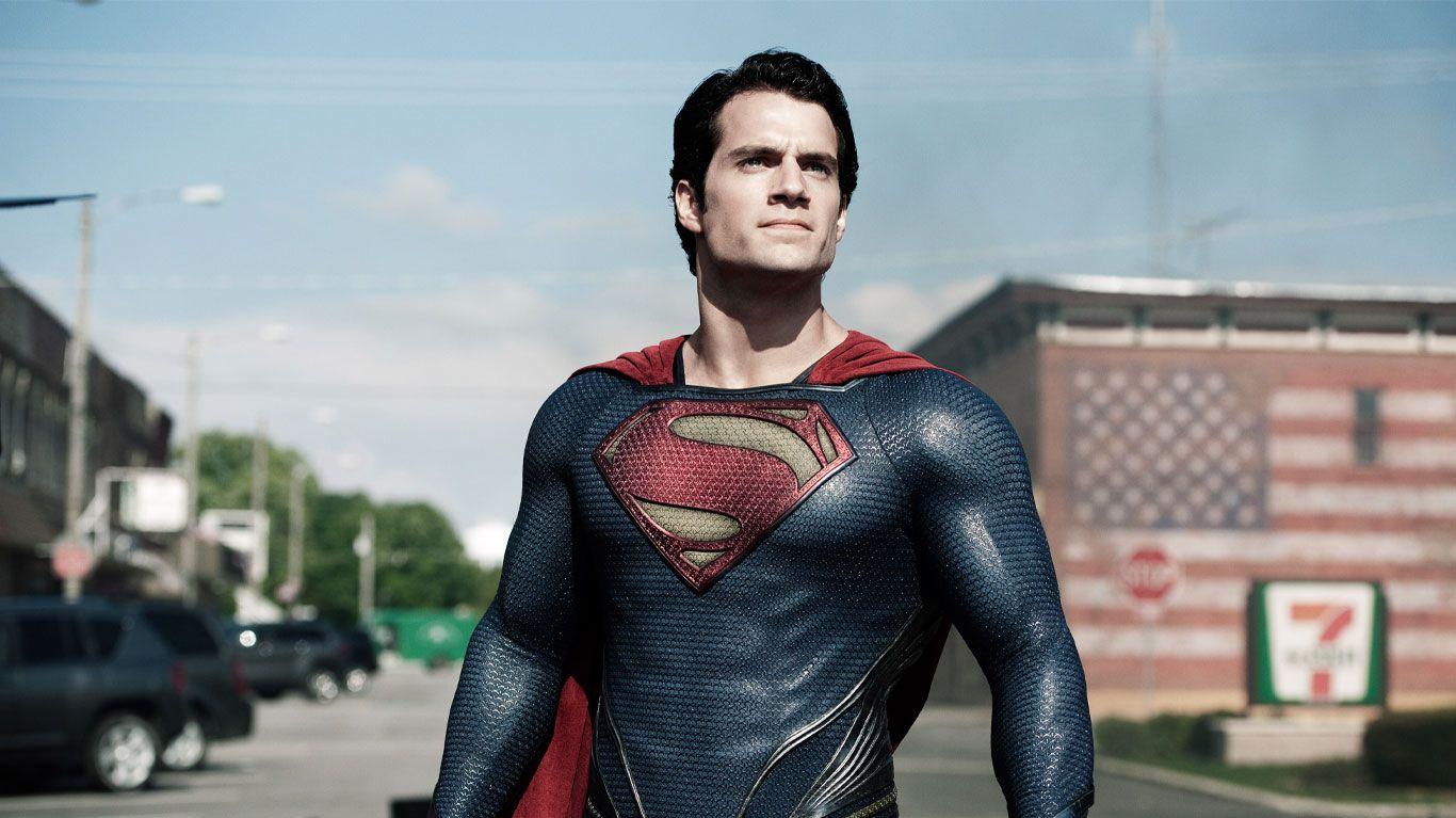 "Henry Cavill in ""Man of Steel."""