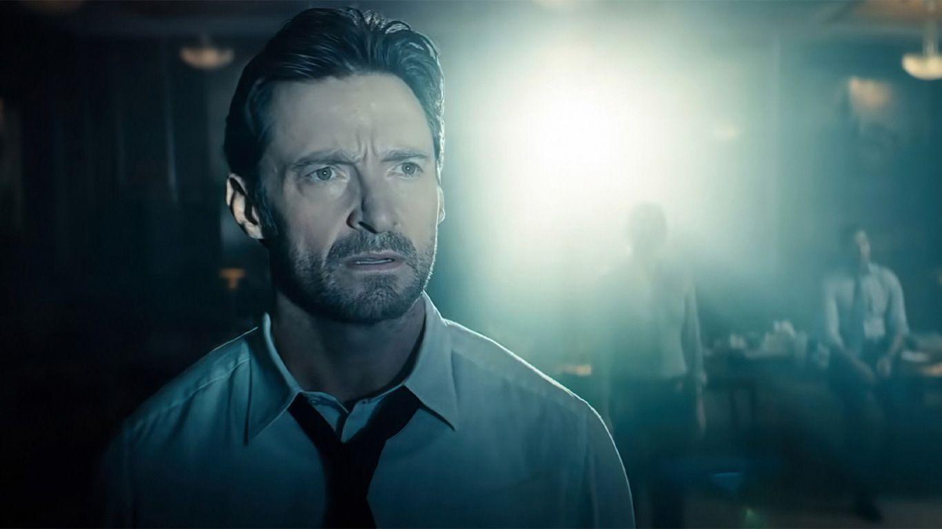 "Hugh Jackman in ""Reminiscence."""