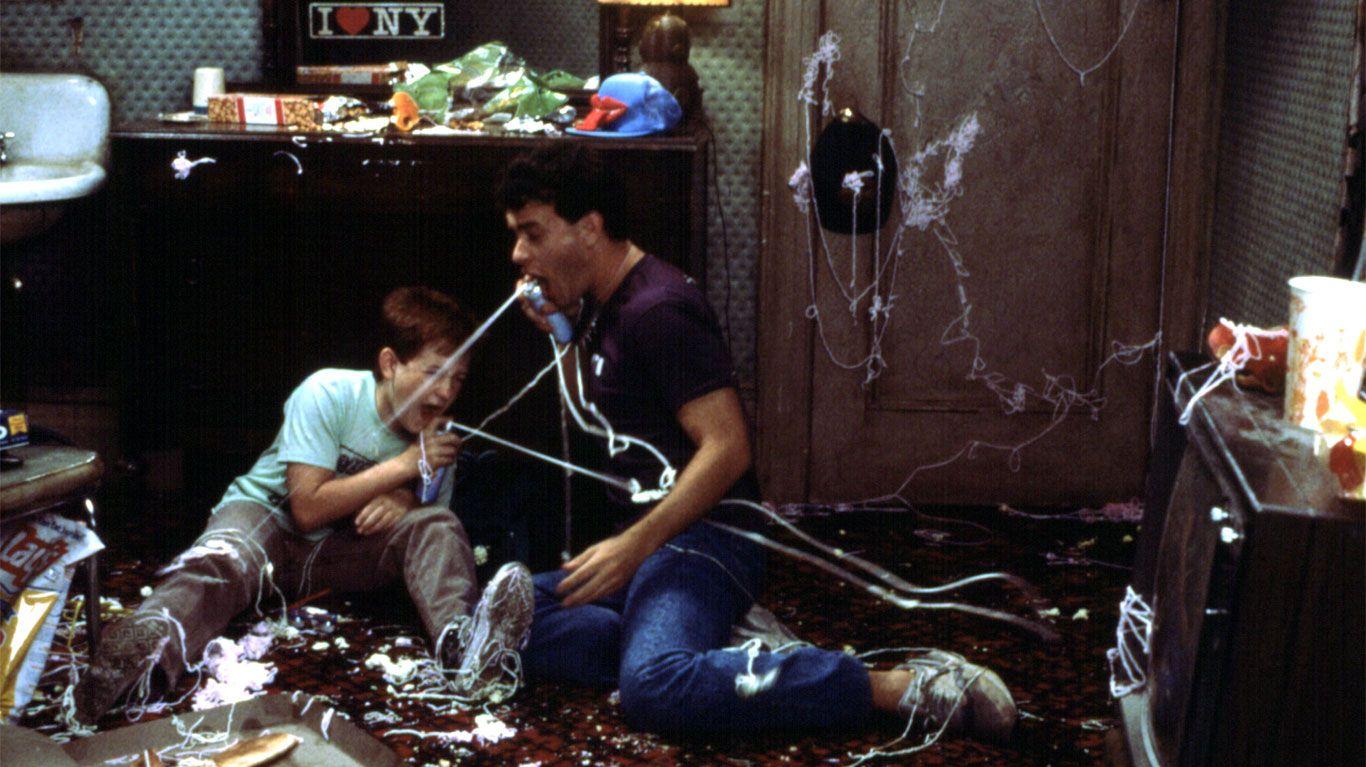 "Jared Rushton and Tom Hanks in ""Big."""