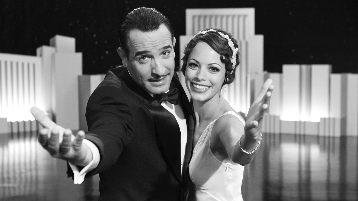 """Jean Dujardin and Berenice Bejo in """"The Artist."""""""