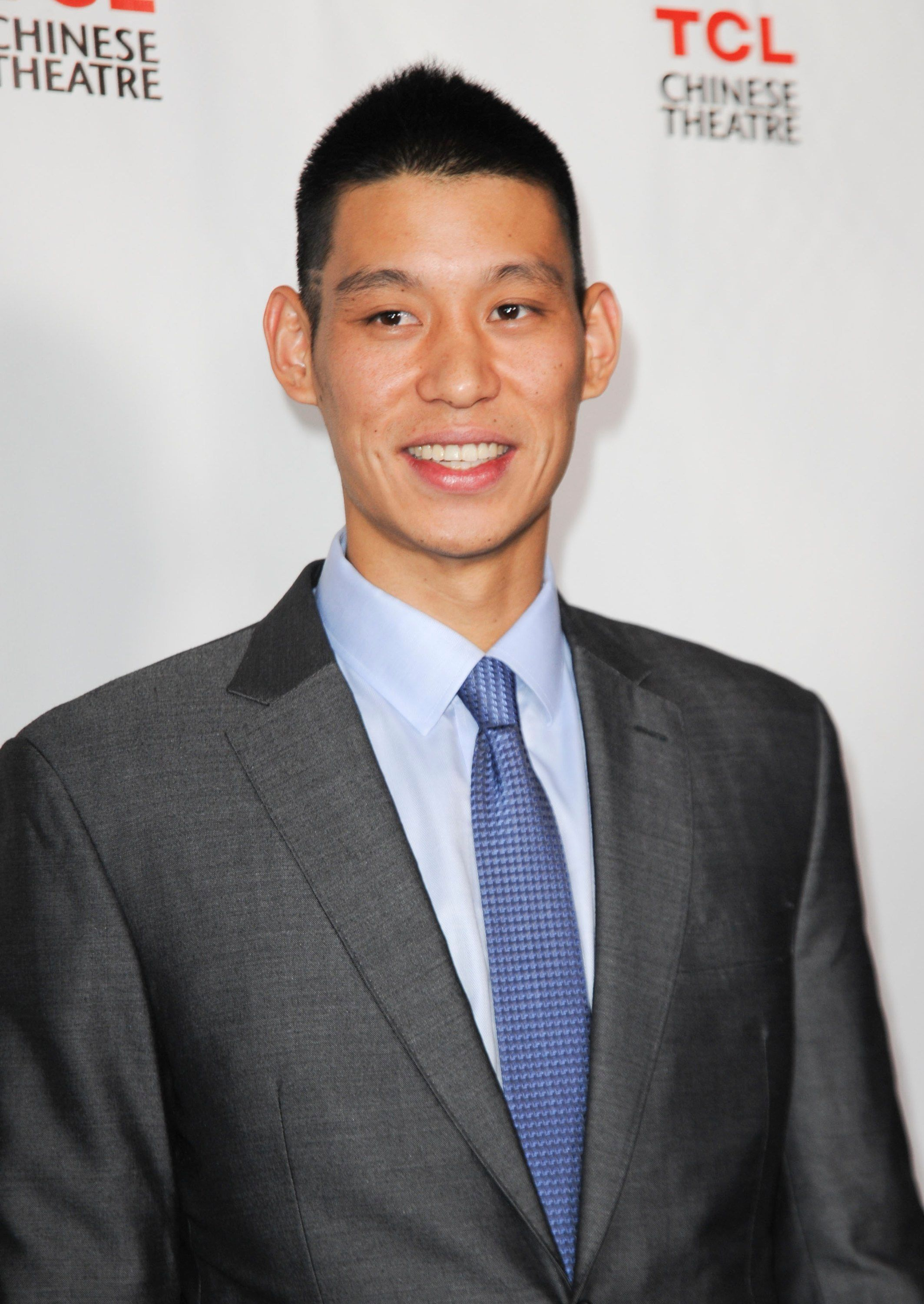 """Jeremy Lin at the premiere of """"Linsanity."""""""