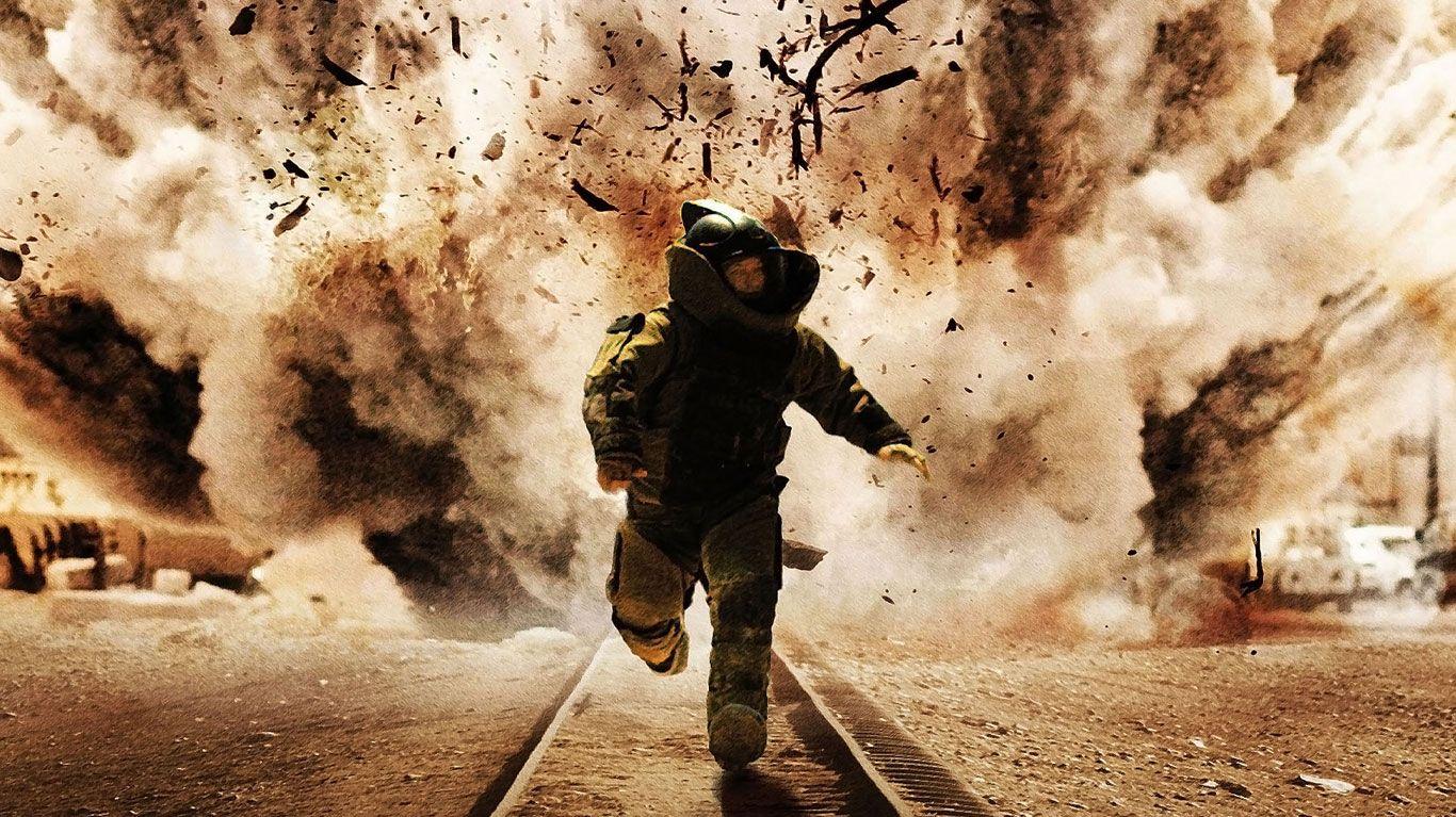 """Jeremy Renner in """"The Hurt Locker."""""""