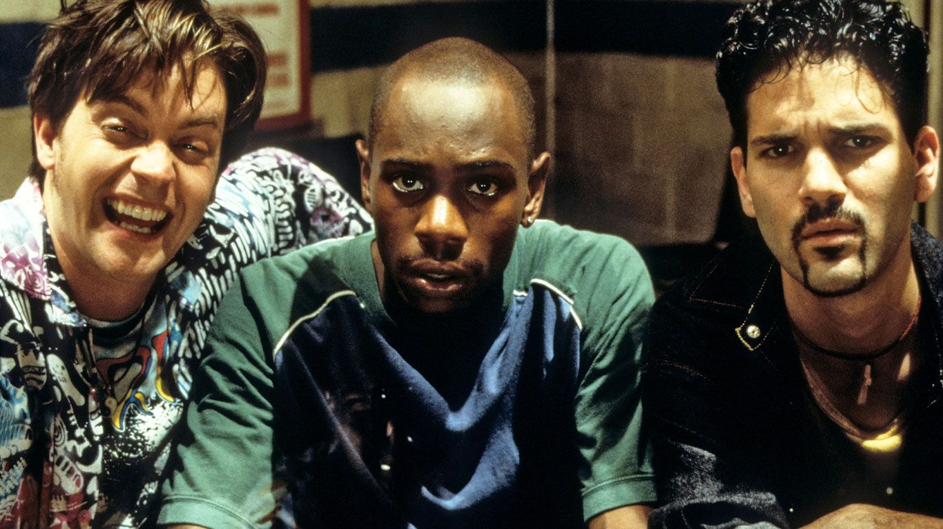 """Jim Breuer, David Chappelle and Guillermo Diaz in """"Half Baked."""""""