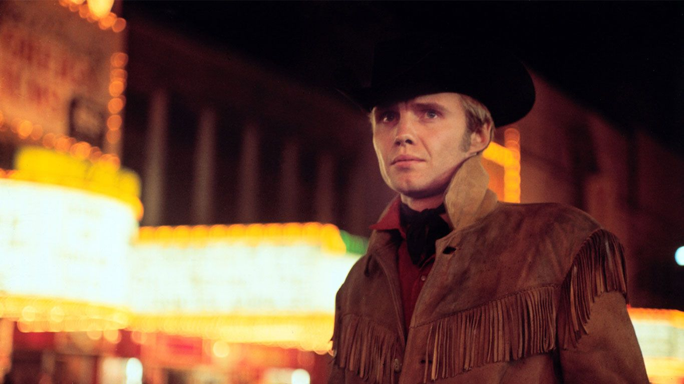 """Jon Voight in """"Midnight Cowboy."""""""
