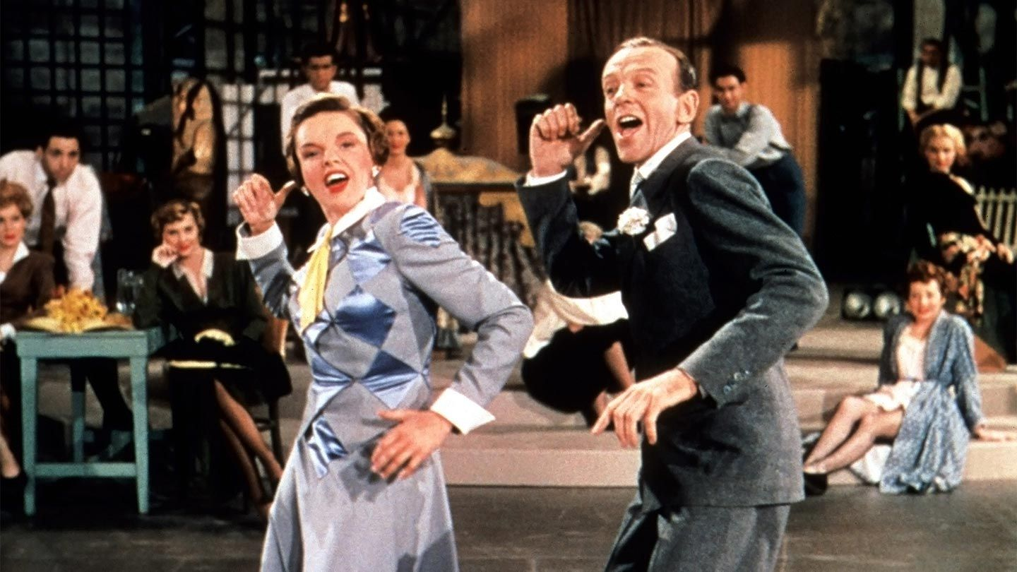 """Judy Garland and Fred Astaire in """"Easter Parade."""""""