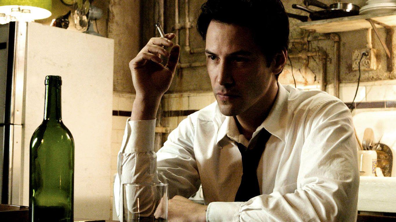 """Keanu Reeves in """"Constantine."""""""