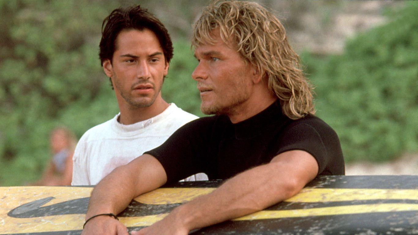 """Keanu Reeves and Patrick Swayze in """"Point Break."""""""