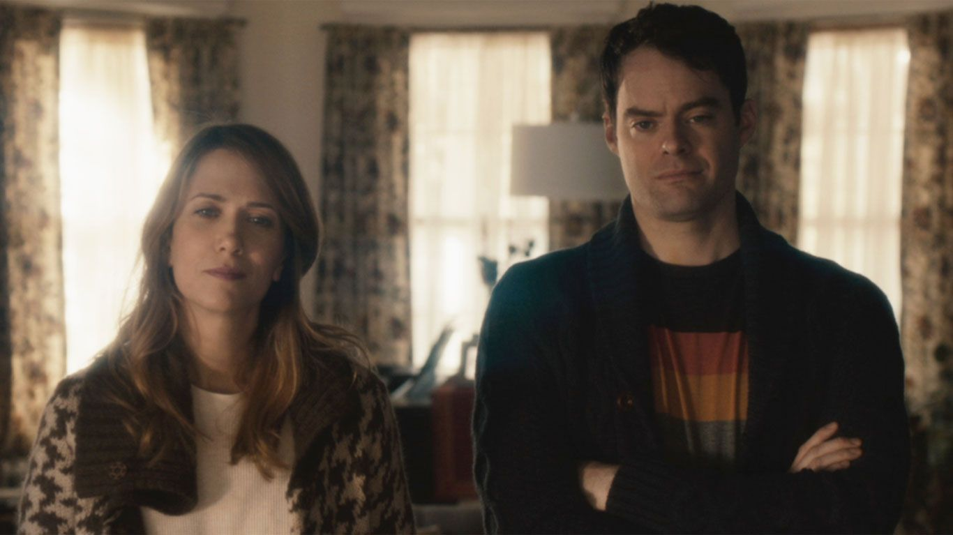"""Kristen Wiig and Bill Hader in """"The Skeleton Twins."""""""