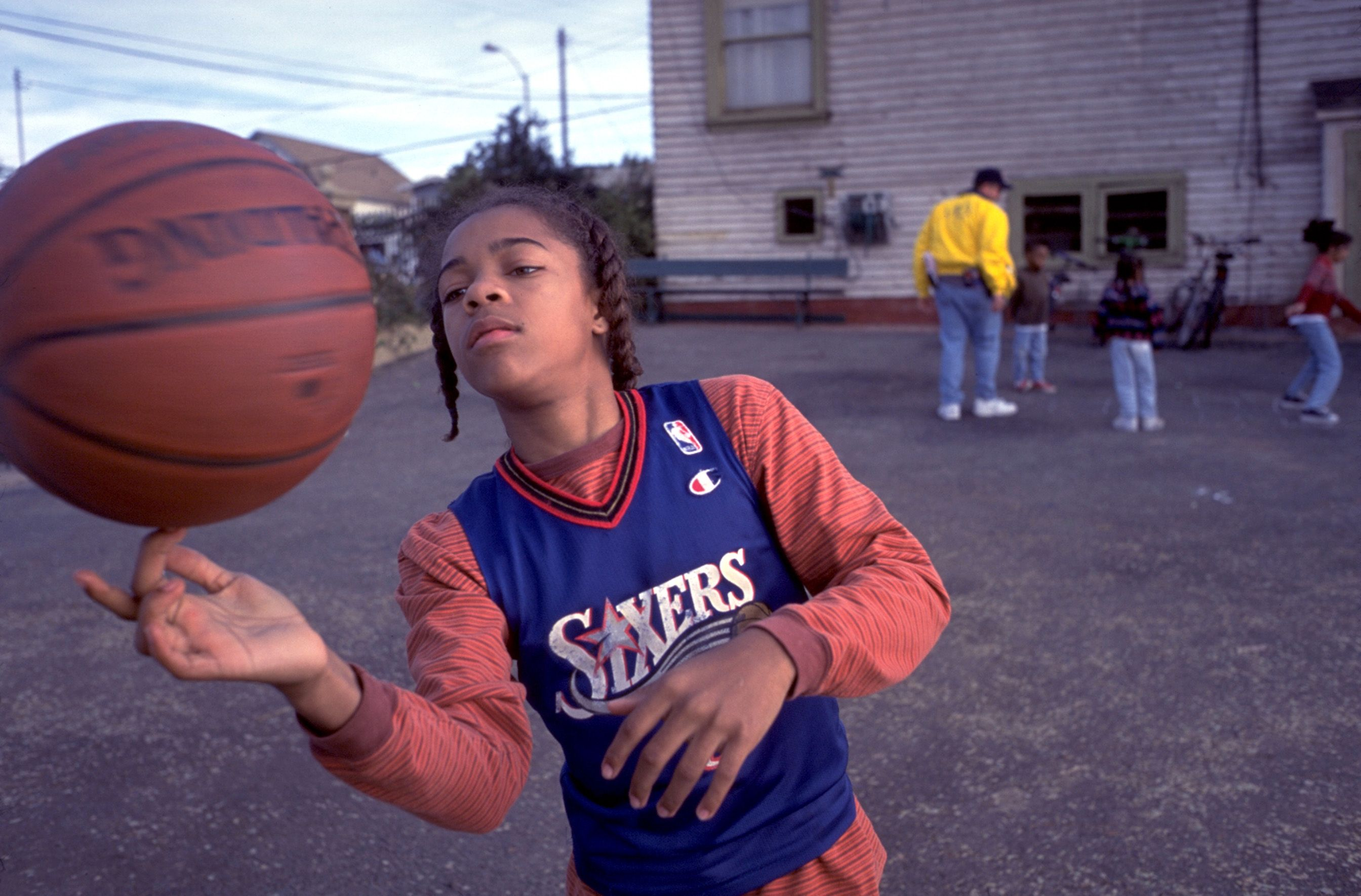 """Lil' Bow Wow in """"Like Mike."""""""