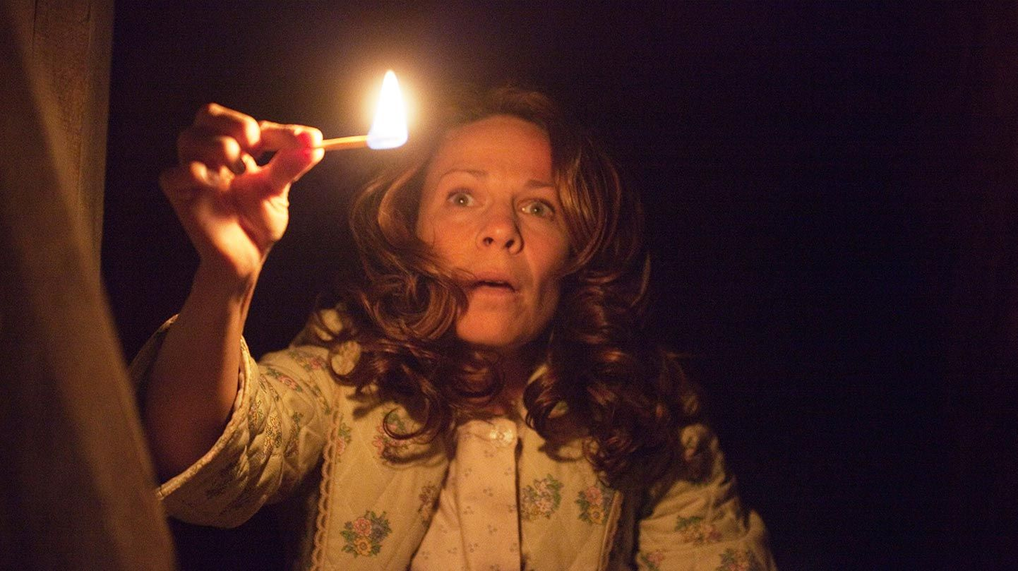 """Lili Taylor in """"The Conjuring."""""""