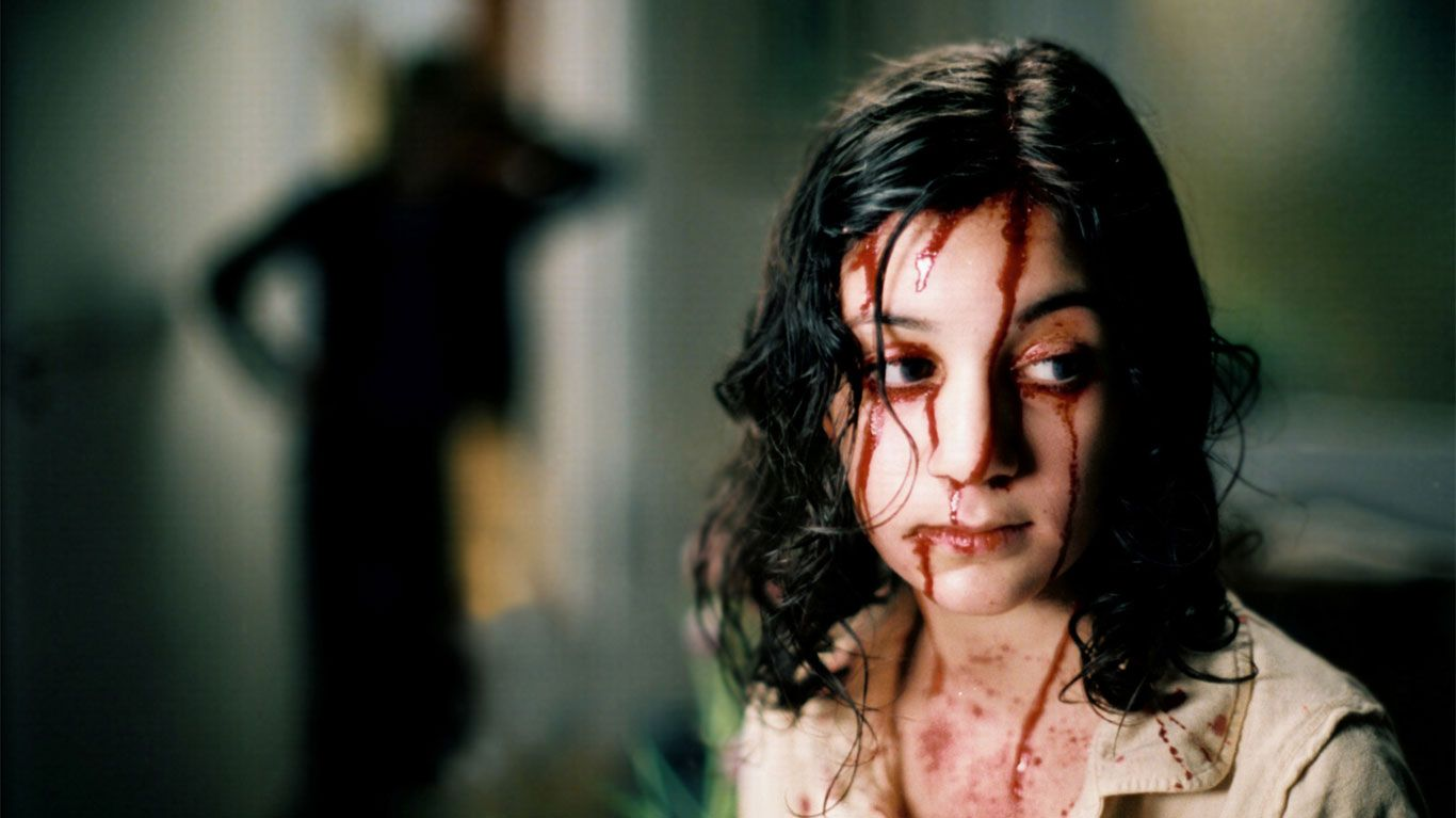 """Lina Leandersson in """"Let the Right One In."""""""