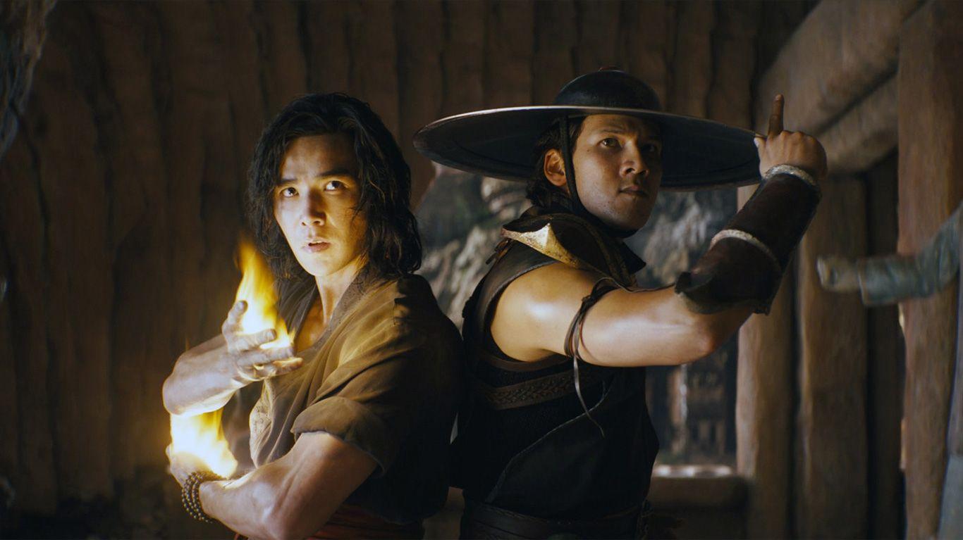 """Ludi Lin and Max Huang in """"Mortal Kombat."""""""
