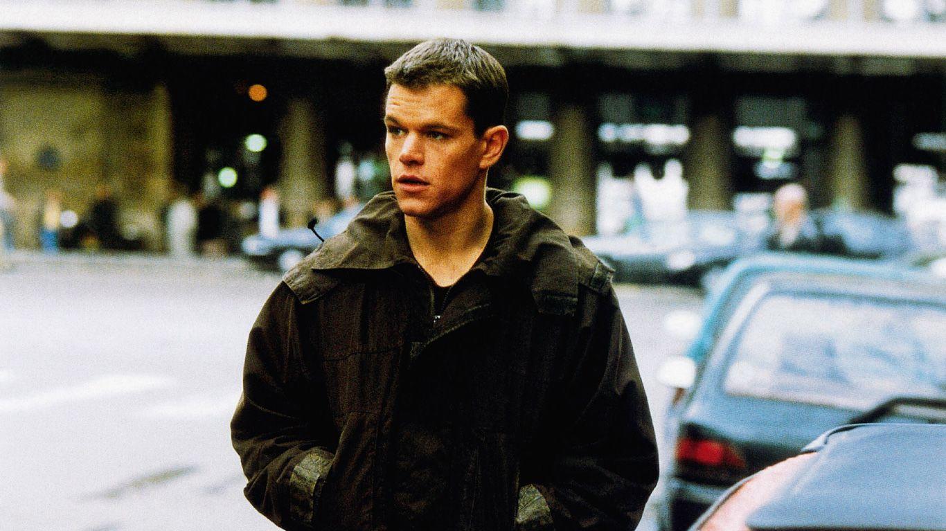 "Matt Damon in ""The Bourne Identity."""