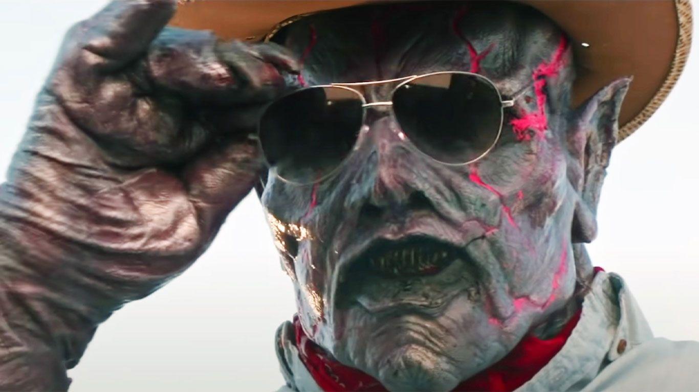 """Matthew Ninaber in """"Psycho Goreman."""""""