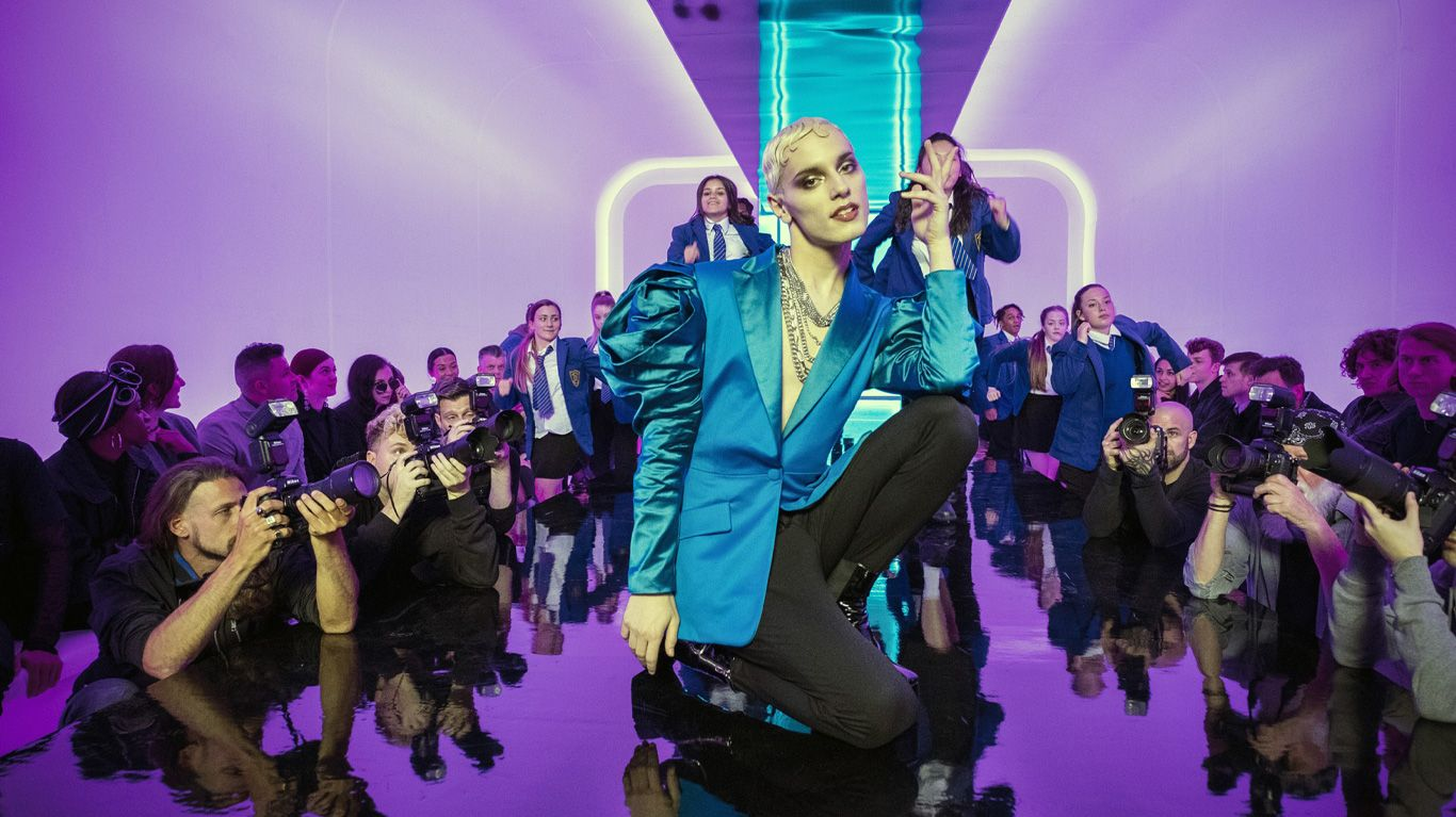"""Max Harwood in """"Everybody's Talking About Jamie."""""""