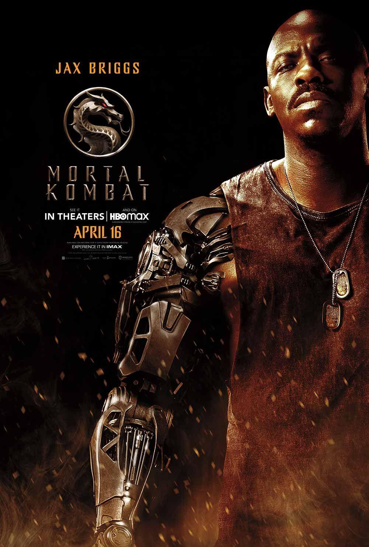 """Mehcad Brooks as Jax Briggs in """"Mortal Kombat."""" © Warner Bros."""