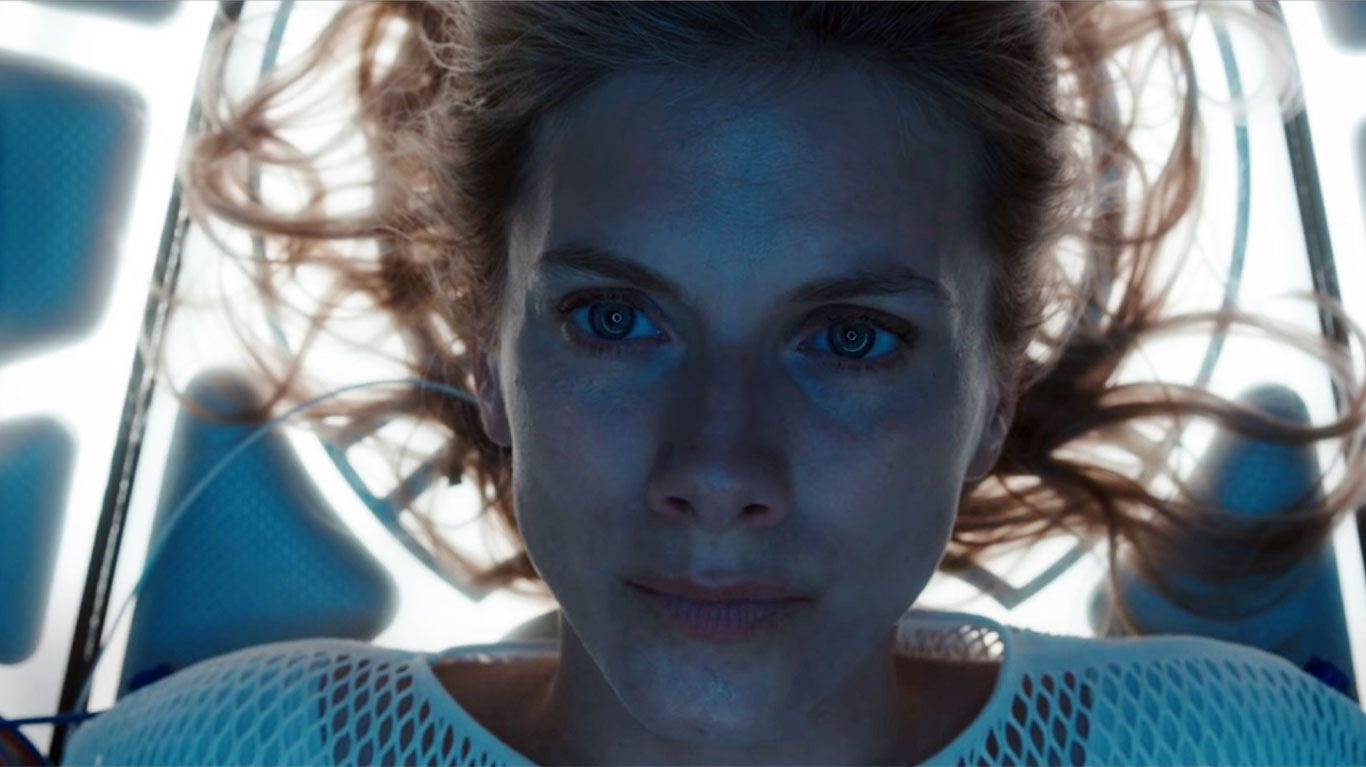"Melanie Laurent in ""Oxygen."""