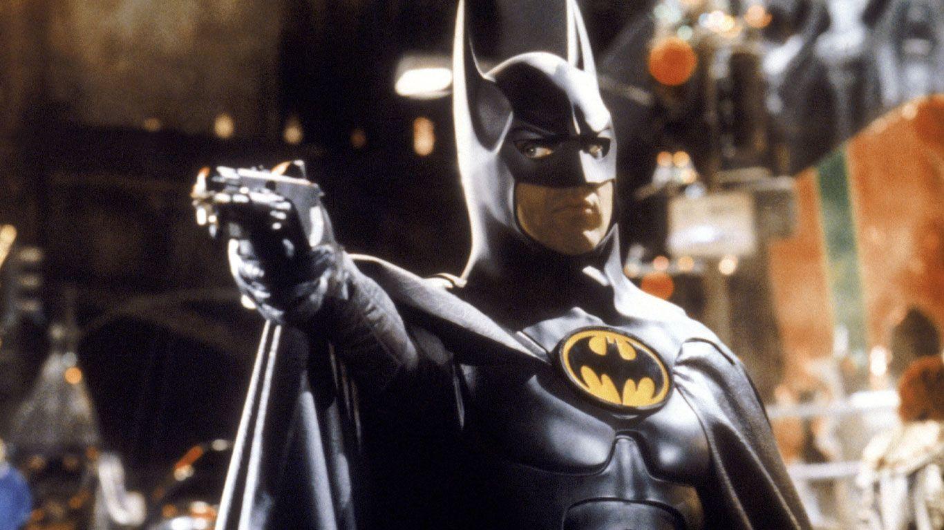 "Michael Keaton in ""Batman Returns."""