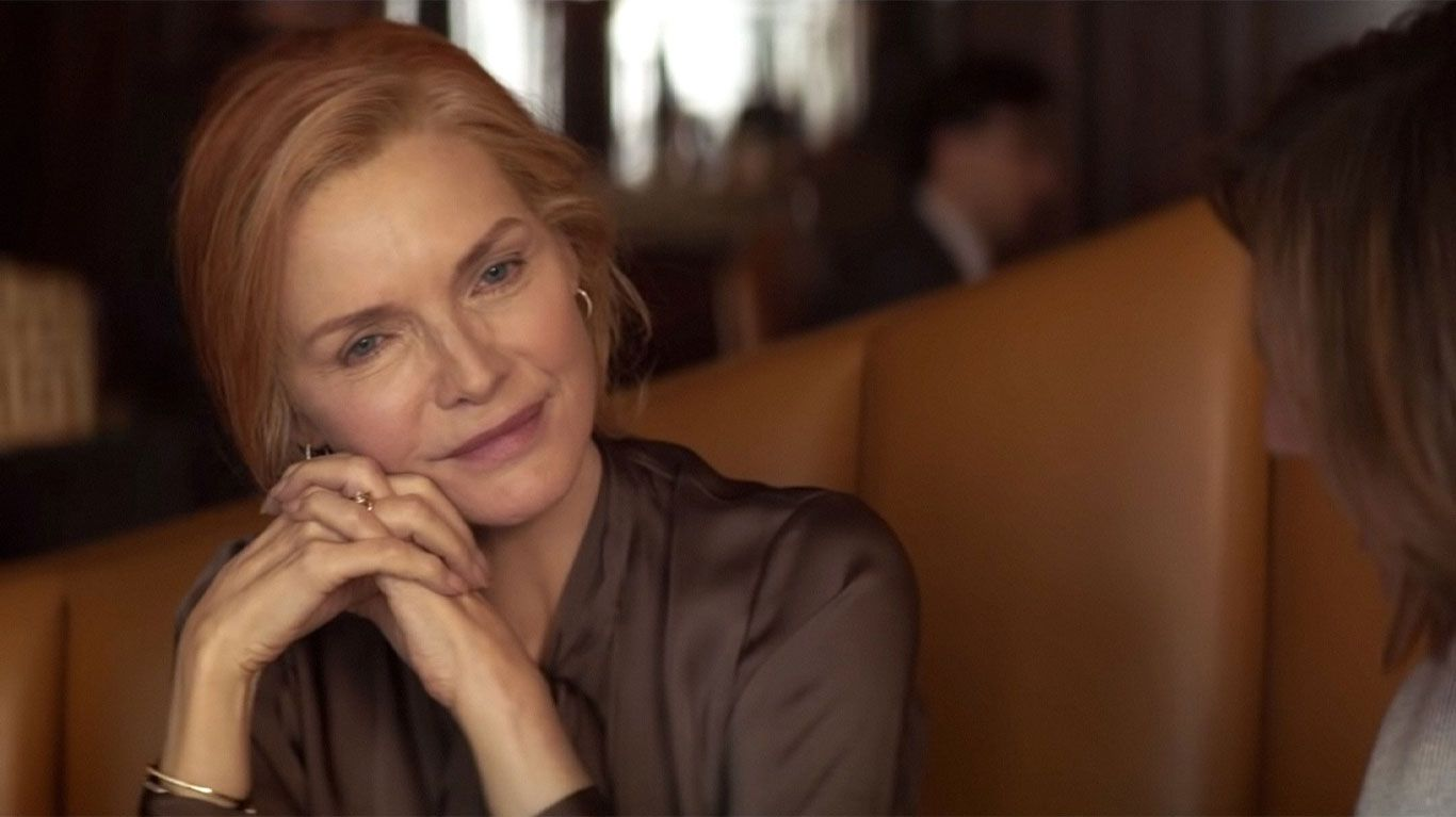 """Michelle Pfeiffer in """"French Exit."""""""