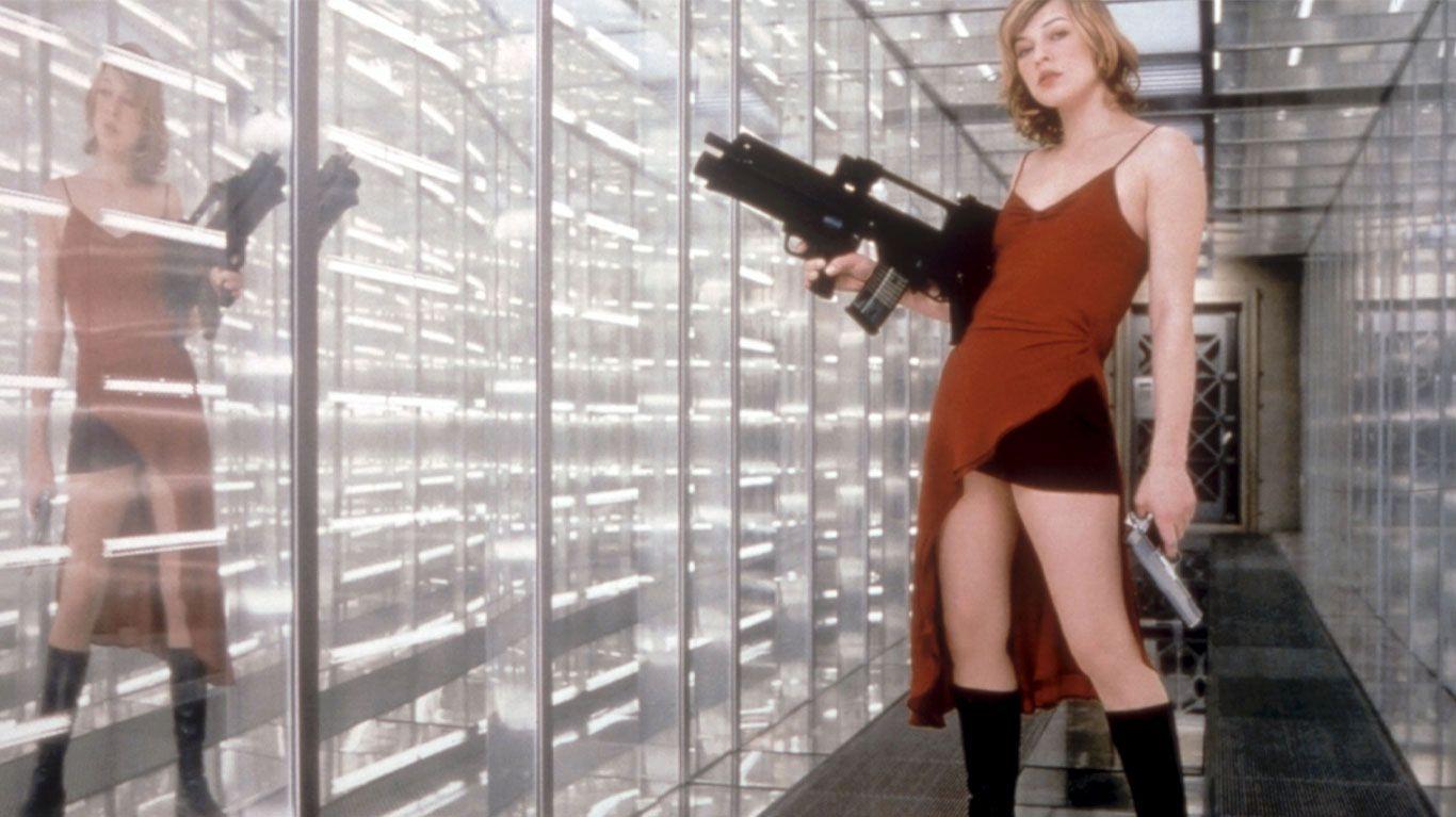 """Milla Jovovich in """"Resident Evil."""""""