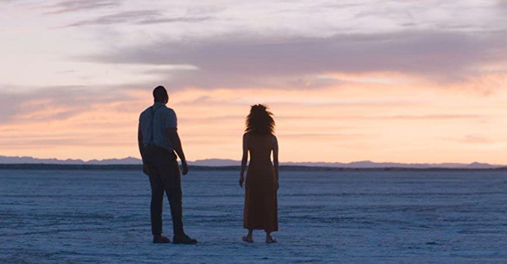"""Winston Duke and Zazie Beetz in """"Nine Days."""""""