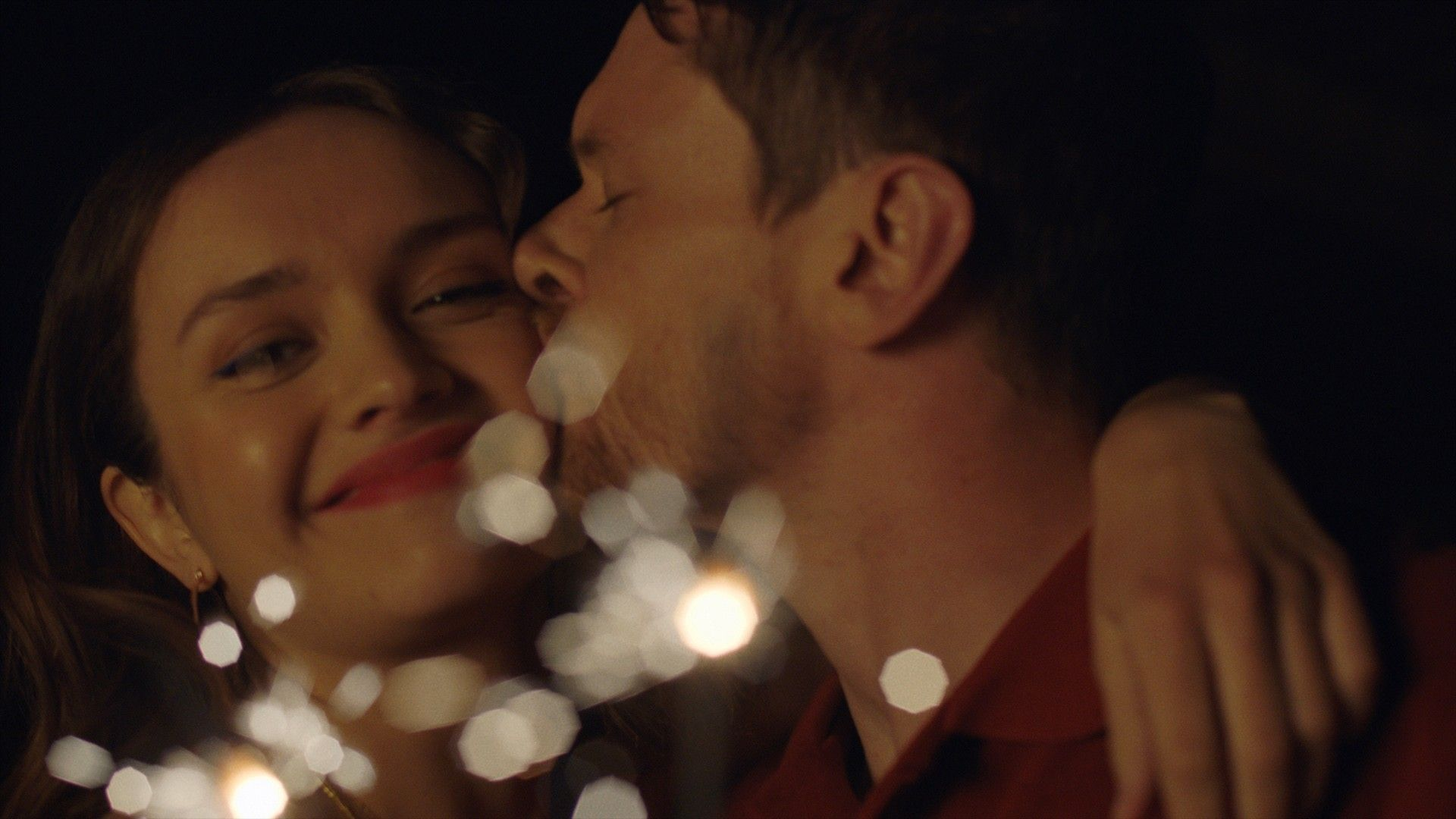 """Olivia Cooke and Jack O'Connell in """"Little Fish."""""""