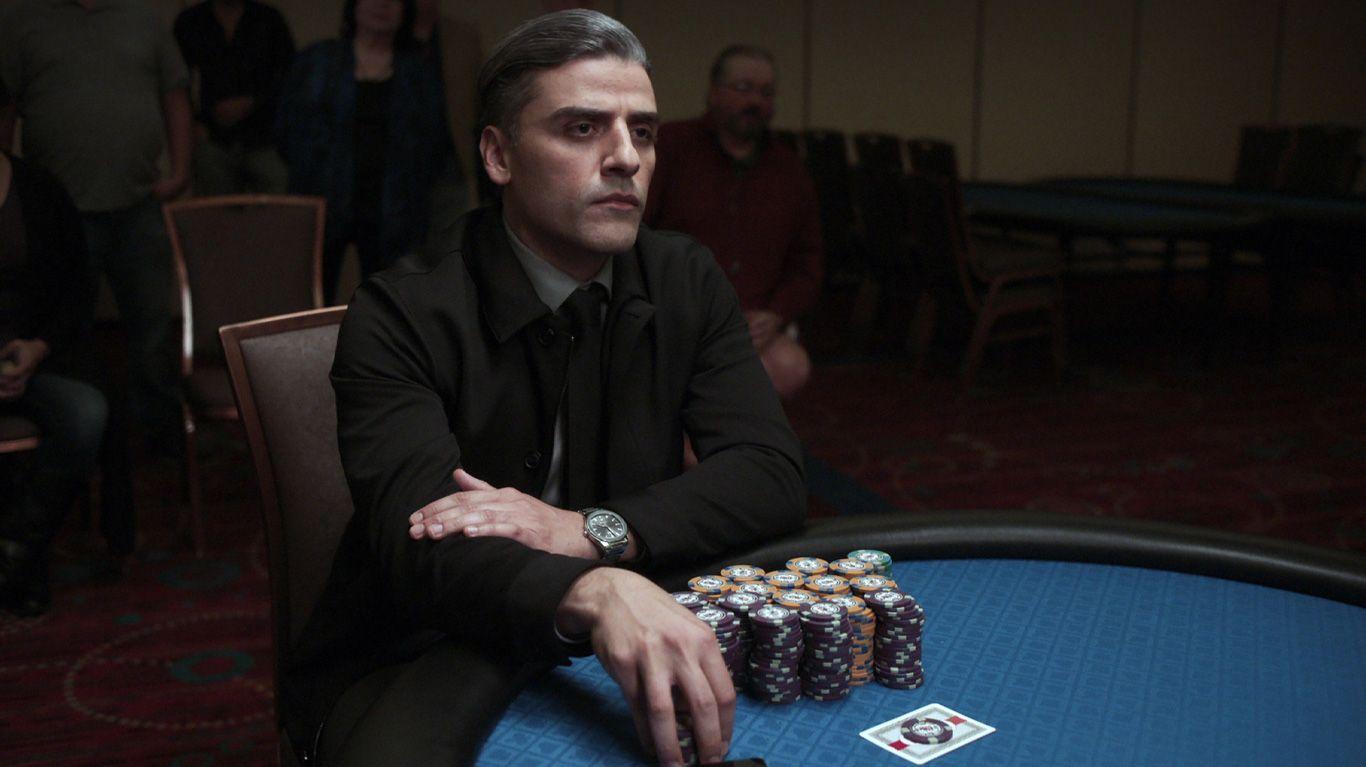 "Oscar Isaac in ""The Card Counter."""