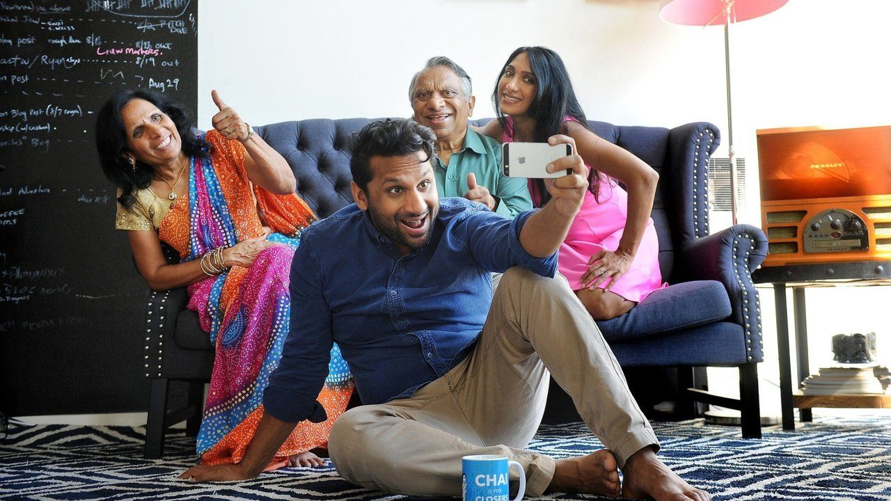 """Ravi Patel and family in """"Meet the Patels."""""""