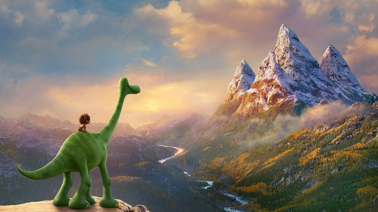 "A scene from ""The Good Dinosaur."""