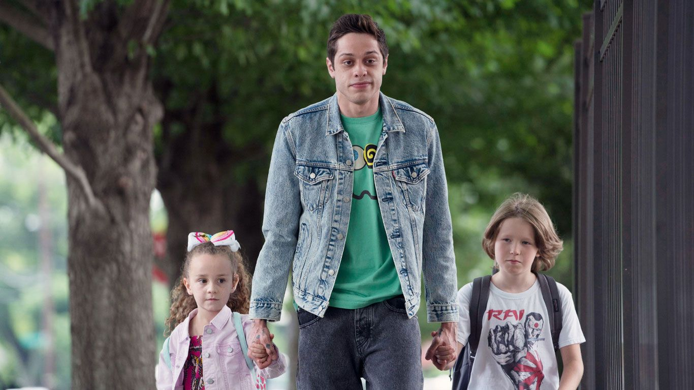 """Pete Davidson in """"The King of Staten Island."""""""