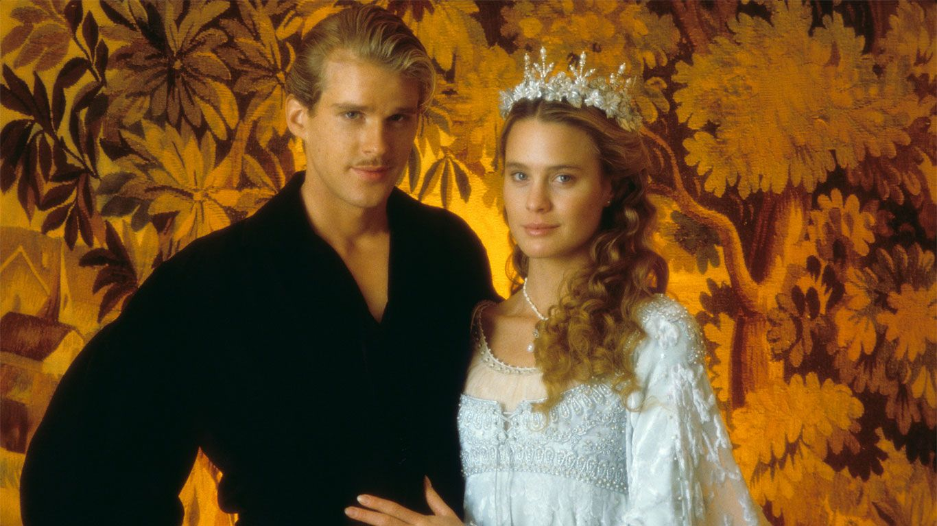 """Cary Elwes and Robin Wright in """"The Princess Bride."""""""