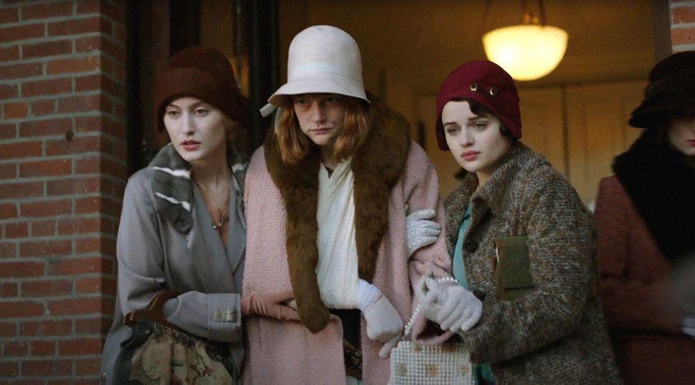 "Olivia Macklin, Colby Minifie and Joey King in ""Radium Girls."""
