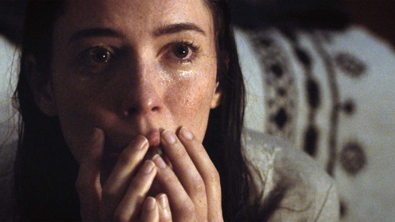 """Rebecca Hall in """"The Night House."""""""