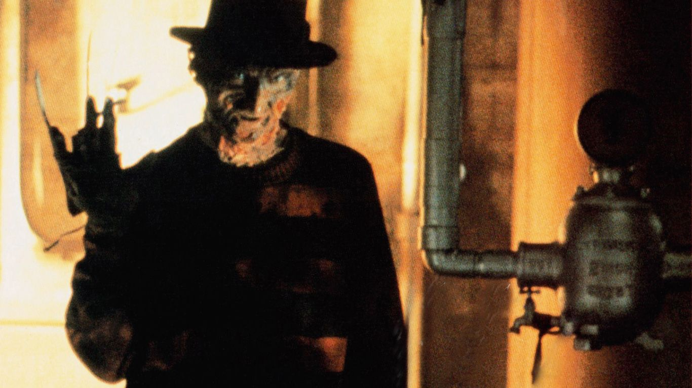 "Robert Englund in ""A Nightmare on Elm Street."""