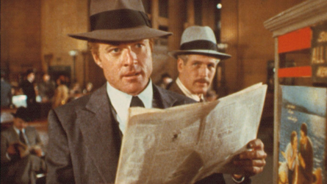 """Robert Redford and Paul Newman in """"The Sting."""""""