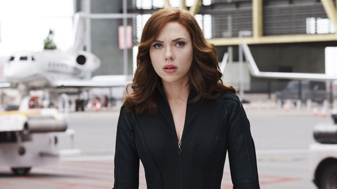 "Scarlett Johansson in ""Captain America: Civil War."""
